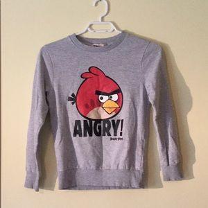 Boys Angry Birds Sweatshirt